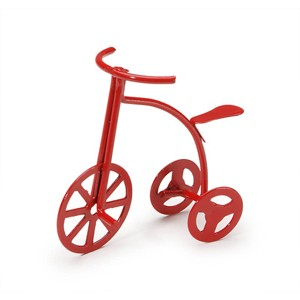 "Mini Red Tricycle - 2"" tall"