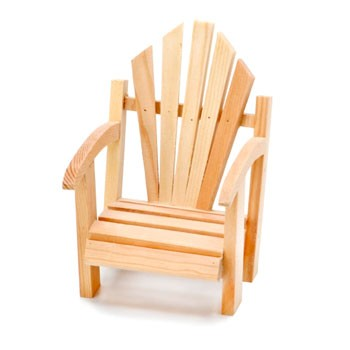 Miniature Muskoka Chair - 5 1/2""