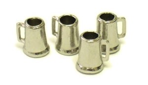 Beer Mugs (4pc) - 3/8""