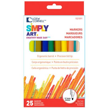 Markers - 25pc