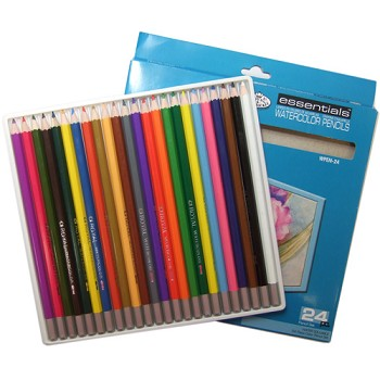 Watercolor Pencils - 24pc