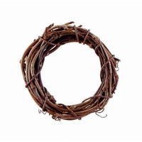 Mini Grapevine Wreath (1pc) - 4""
