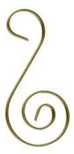 "Ornament Hook Gold - 2"" - 18 pc"
