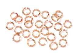Jump Ring - 7.25mm Alum Gold - 150pc
