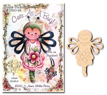 Jamie Mills-Price Pin Packet - Cute as a Bug
