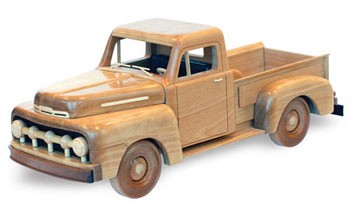 "1951 Ford F150 Pickup Plan (18"")"