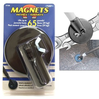 Magnet Pick-up Tool Attachment - lifts up to 65lbs