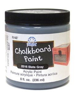 Chalkboard Paint - Slate Gray 8oz