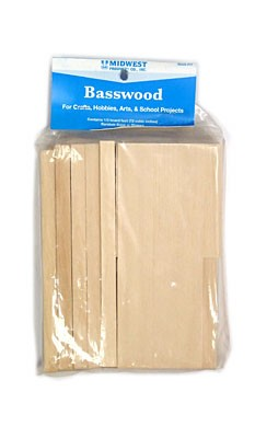 Basswood Economy Bag (72 cubic in.)