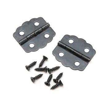 "Black Hinge 7/8"" - 2pc"