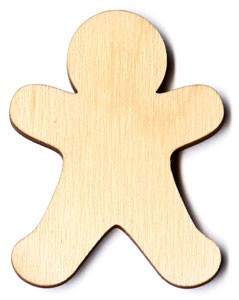 Gingerbread Man - 2 1/2""