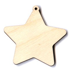 Star Ornament - 2""