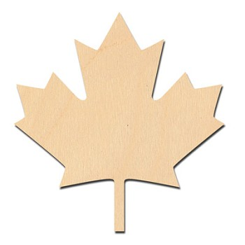 Maple Leaf - 1 1/8""