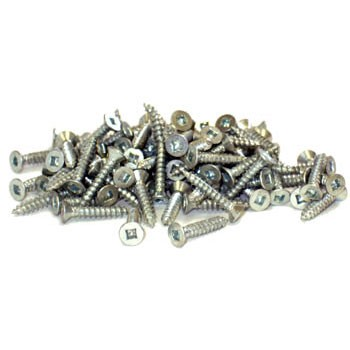 "Wood Screws-#4 x 5/8"" 100pc"
