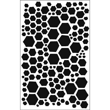 Stencil - Honeycomb Small