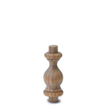 Spindle - Oak - 1 1/2""