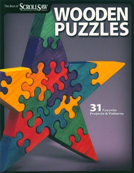 Wooden Puzzles by Scroll Saw Magazine