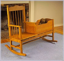 Plan-Rocker Cradle