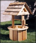 "Plan-Small Wishing Well (40"" x 27"")"