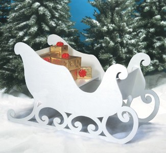 "Plan-Santa's Sleigh (59"" long)"