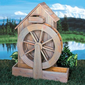 "Plan-Old Grain Mill ( 55"" high)"
