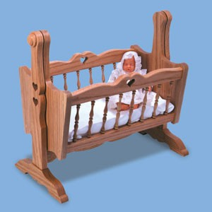 "Plan - Doll Cradle (19"" tall)"