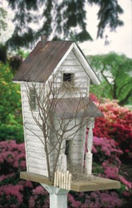 "Plan-Old Country Birdhouse (16"" high)"