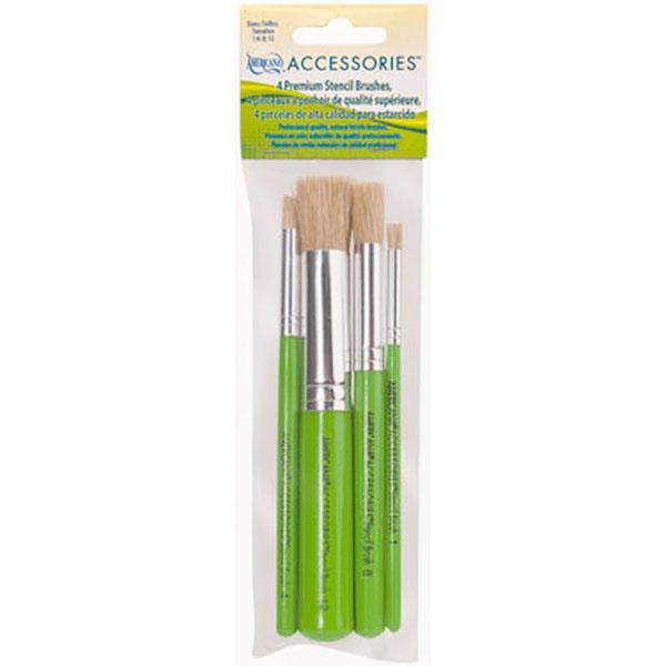 Royal Brush 4Pc Stencil Brush Set
