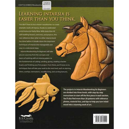 Intarsia Woodworking For Beginners By Kathy Wise