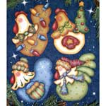 Cyndi Combs Packet - Funky Christmas Chickens #4