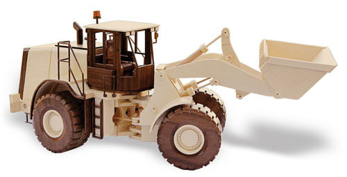 Cat Front End Loader Plan (22