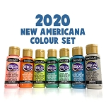 Set of 7 New Americana Colours