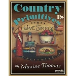 Country Primitives #18 by Maxine Thomas
