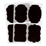 Adhesive Chalk Tags - 8pc Large Set