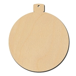 Round Christmas Ornament - 4 1/4