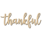 Thankful Sign - 6