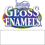White Americana Gloss Enamel Paint - 2oz