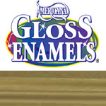 Glorious Gold Americana Gloss Enamel Paint - 2oz