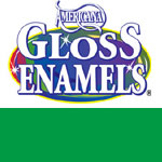Festive Green Americana Gloss Enamel Paint - 2oz