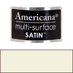 White Birch Americana Satin Paint - 2oz