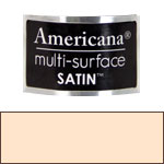 Buff Beige Americana Satin Paint - 2oz