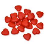 Acrylic Beads - Red Heart - 20gr