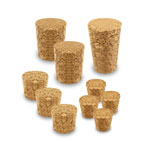 Cork Stoppers - Assorted sizes 10pc