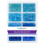 Glass Bead Kit 45g - Blue