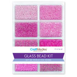 Glass Bead Kit 45g - Blush Pink