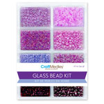 Glass Bead Kit 45g - Viola Purple