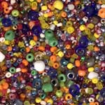 Tub of Seed Beads - Multi Colour & Size - 470ml