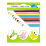 Origami Set - Bright Colours - 60pc