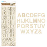 Wood Letters with Storage Box - 162pc