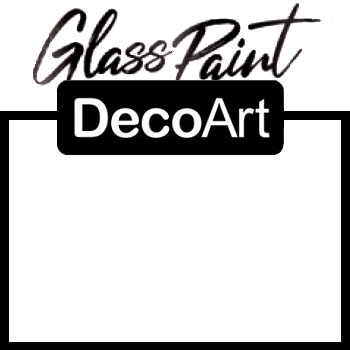DecoArt Glass Paint - White 2oz
